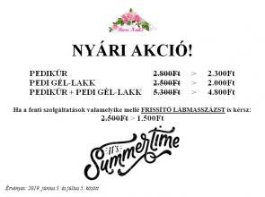 nyári akció