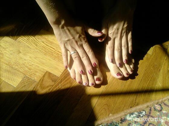 Nagy Márta - Láb díszítés - 2011-02-09 15:29