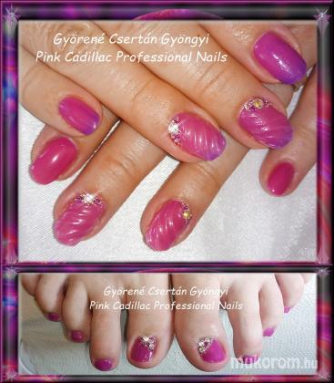 Györené Csertán Gyöngyi - Pink Cadillac Professional Nails Körömszalon - Thermo nail art - 2018-03-03 09:34