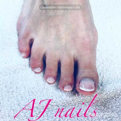 AJ Nails & Pedikur & lashes - Francia gél lábra  - 2018-03-07 23:09