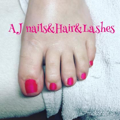 AJ Nails & Pedikur & lashes - Matt rozsaszin - 2018-04-20 11:12