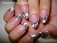 Best Nails - uñas en acrilico con dibujo en gel