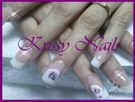 Best Nails - con florecitas
