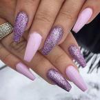 Best Nails - Rózsaszín és glitter