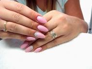 Best Nails - Rózsaszín köves