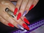 Best Nails - csillámszál
