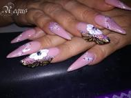 Best Nails - pillangószárny