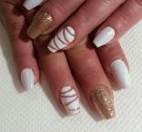 Best Nails - arany fehér