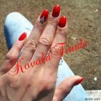 Best Nails - Ferrári piros