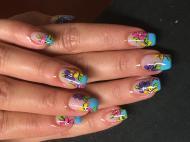 Best Nails - Porci festett mintával