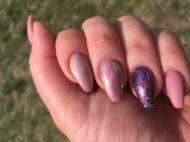 Best Nails - Porci gellac auróra galaxy és matt magamnak