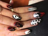 Best Nails - Halloween porci festve