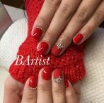 Best Nails - Piros gel lac
