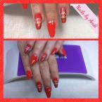 Best Nails - Piros lakkzselé
