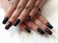 Best Nails - Fekete és bordó