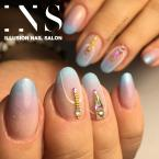 Best Nails - Színátmenetes