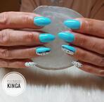 Best Nails - Kék és fehér körmök