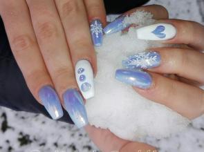 havas kék aurórás
