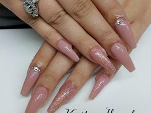 acrylic balerina nails