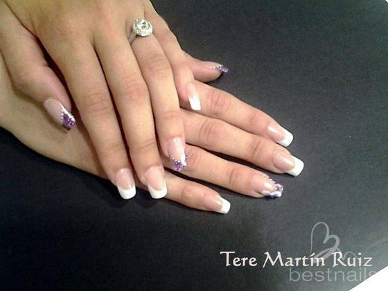 best nails uas lilas - Decoracion De Uas De Porcelana