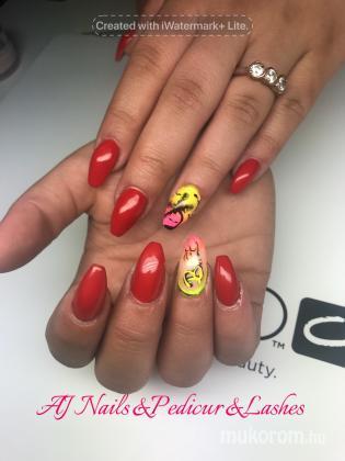 AJ Nails & Pedikur & lashes - Hhgj - 2018-08-04 23:26