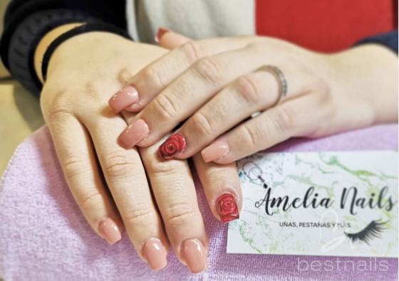AmeliaNails - Reconstrucción de uñas decorada 3D - 2019-06-06 12:12