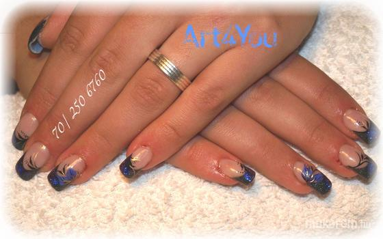 Art4you Nails - szines francia véggel - 2011-10-13 23:12