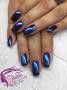 Kék chrome poros