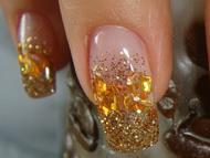 Best Nails - bronz közelről