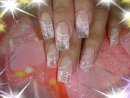 Best Nails - rózsa kristály