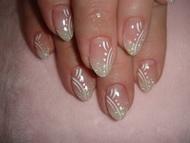 Best Nails - ezüstös csillogás