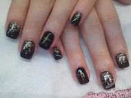 Best Nails - negras 2