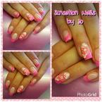 Best Nails - flores 3d