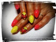 Best Nails - nyári neon