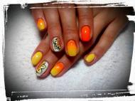 Best Nails - nyári mandala
