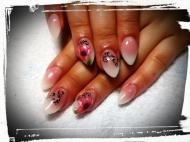 Best Nails - baby boomer art gel pipaccsal