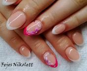 Best Nails - francia és pink