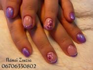 Best Nails - kézzel festve