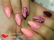 Best Nails - Órózsaszin
