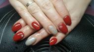 Best Nails - Szolid piros