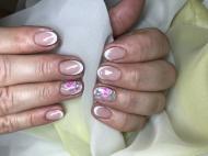 Best Nails - Francia virággal
