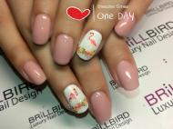 Best Nails - Flamingo