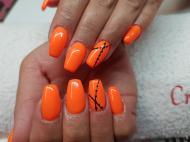 Narancs fekete