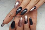 fekete rosegold