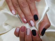 Best Nails - Nude és fekete