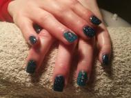 Best Nails - kék köves