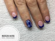 Best Nails - Kockás