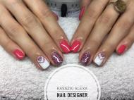 Best Nails - mintás
