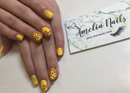 Best Nails - Print amarillo
