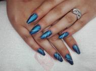 Best Nails - Kék köröm